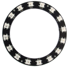 RGB кольцо адресное 52/36мм 12LED ws2812b