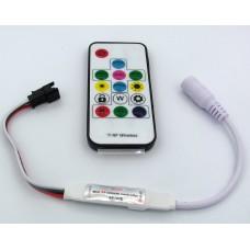 Контроллер SP103E  12В (с радиопультом)  для адресных лент/модулей (RGB, WS2801, WS2811, WS2812)