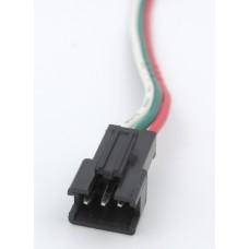 """разъем """"папа"""" с 3 проводами 12см для адресных лент и модулей на ws2811/2812"""