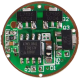 AMC7135-10-5 Драйвер для фонарика линейный 1А, 2-5 режимов