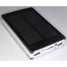 Power Bank PB05s-01 с солнечной панелью на 5 аккумуляторов 18650 (13А/ч)