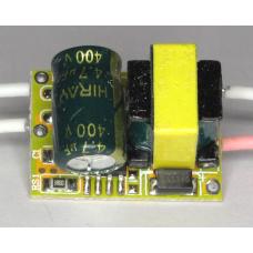 Драйвер для светодиодов (220В->2-4В 500мА)