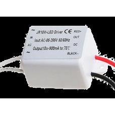 неплохой малогабаритный драйвер (220В->8-12В 900мА) для 3шт Cree XP-G