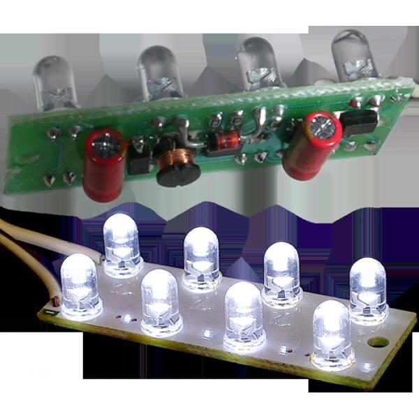 LedDrv8  5В(!)...25В (без светодиодов) для 8шт светодиодов, повышающий