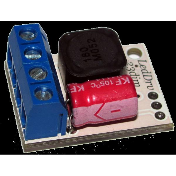 LedDrv23 (1A, 1.4A, 2.1A) Импульсный драйвер для мощных светодиодов
