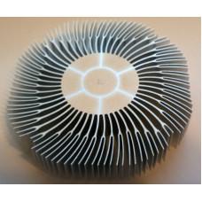 Радиатор для светодиодов CXA1512, 1507, XM-L Размеры 85х85х19мм