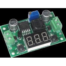 LM2596V-1 плата стабилизатора с вольтметром; (3-30V 3A)