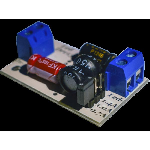 LedDrv13d (0.7A-1A-1.4A) универсальный импульсный драйвер для светодиодов